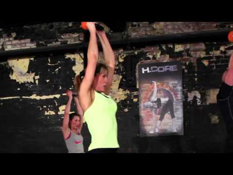 H.Core Kettlercise the worlds No1 Kettlebell Smartly being Program