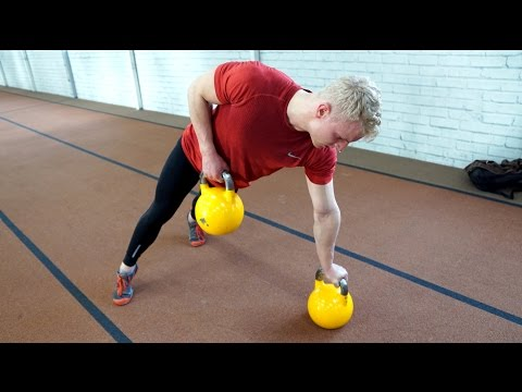Intense Kettlebell Workout for the Posterior Chain