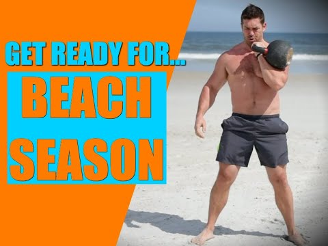 "8 Minute Kettlebell Seaside ""Cardio"" Workout | Chandler Marchman"