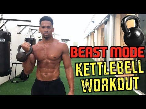 Beast Mode Kettlebell Workout