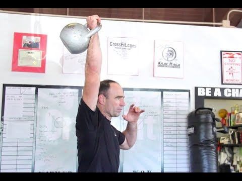 Kettlebell Shoulder Press with Jeff Martone