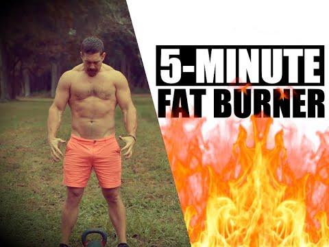 5-Minute Kettlebell Burn! [One Kettlebell…FAST Fat-Loss] | Chandler Marchman