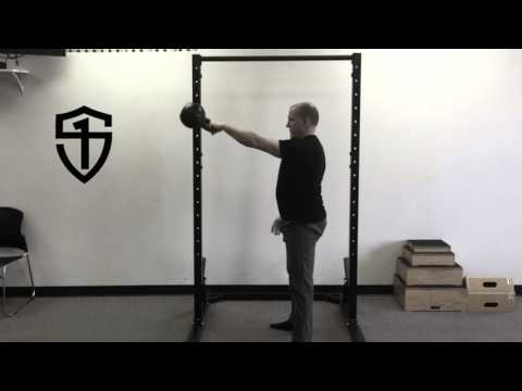 Leisurely-Motion Kettlebell Swing and Snatch