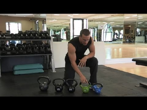 Easy  Prefer the Moral Size of Kettlebell : Fitness Practicing