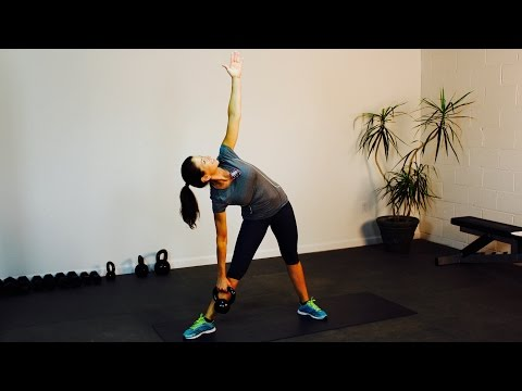 Kettlebell Entire Body Strength and Core – Intense ABS and BUTT WORKOUT