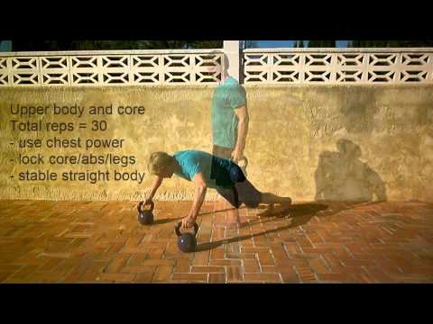 Full meltdown : Fleshy Body Kettlebell Workout Routine : Personal Coach Costa Blanca