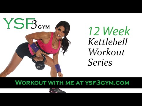 Kettlebell Workout Collection – Corpulent Physique Workout at Home