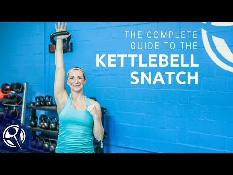 The COMPLETE Handbook to the Kettlebell Snatch!