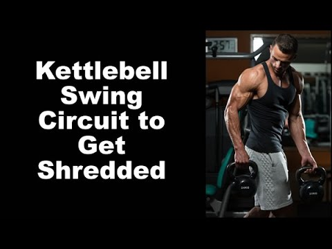 Total-Body Heavy Kettlebell Swing Circuit for FAST Paunchy-Loss while keeping your energy