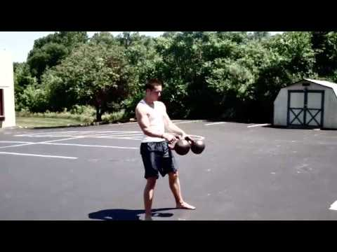 The Dragon Gym Kettlebell Burpee for Conditioning, Tubby Loss, and Energy