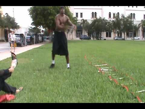 Dre Stanley 1st Earl Baldwin of Bewdley: Kettlebell Beneath Leg Go Pt. 3 | Energy Training Basketball NBA Offseason