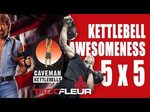 5 x 5 Kettlebell Advanced – KETTLEBELL AWESOMENESS