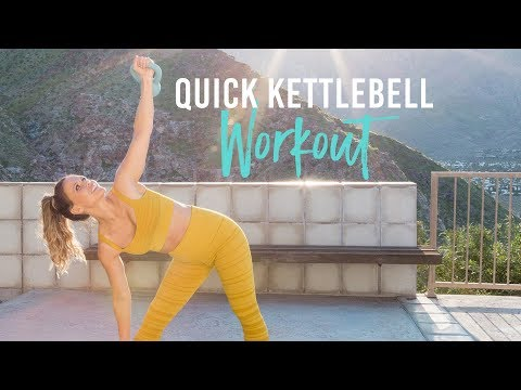Fleet Kettlebell Yell For Strength And Cardio | Tone It Up