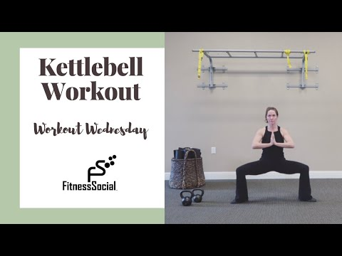 Kettlebell Exercise & Trudge with the circulation | FitnessSocial Exercise Wednesday