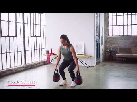 Bowflex® 840 Kettlebell | DOUBLE KB SUITCASE SQUAT