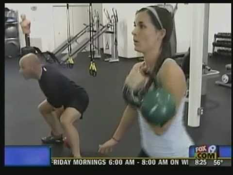 Kettlebell Training at HealthStyle Fitness
