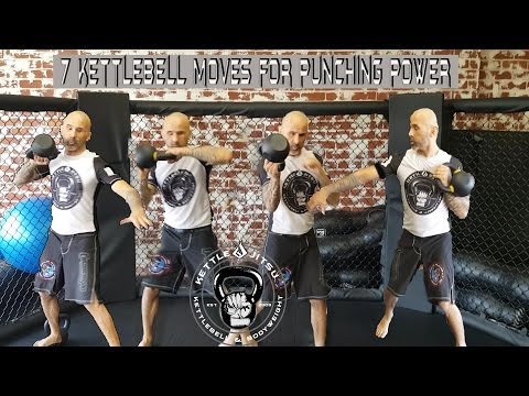 7 MMA Particular Kettlebell Workouts for Hand Tempo and Punching Vitality