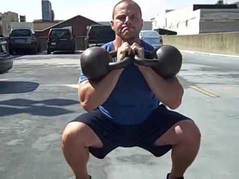 TOUGH Kettlebell Workout: Kettlebell Ladders