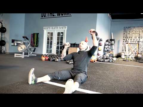 Athletic Double Kettlebell Complex For Paunchy Loss And Lean Muscle