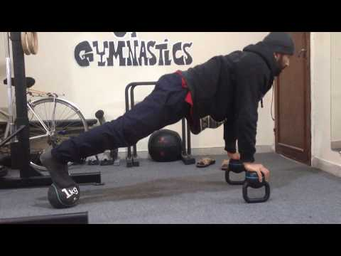 CORE STABILITY CHALLENGE ( Kettlebell & Medications Ball & Rings )