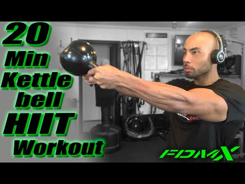 kettlebell stout burning exercise