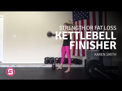 Karen Smith — A Yelp for Strength OR Fleshy Loss — Kettlebell Finisher Outlined
