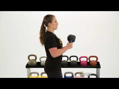 Kettlebell Bicep Curl || Kettlebell Kings || Kettlebell exercise series