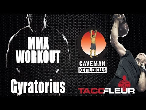 Kettlebell Working against for MMA + Snort