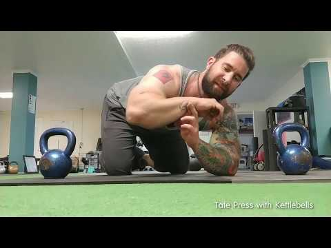 Is the Kettlebell the Simplest Tool for Tate Presses ?