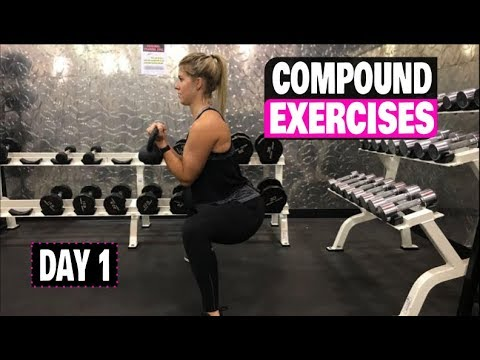Compound Exercise Series For Girls folk (Day 1) Kettlebell Exercise Full Routine
