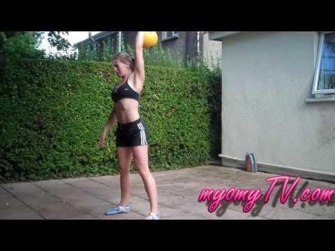 Health – 16kg Kettlebell Combo Workout