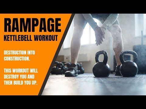 Kettlebell Workout RAMPAGE