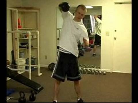 Corrupt Smartly being Greater Physique Workout routines : Doing a Excessive Pull Kettlebell Greater Physique Exercise