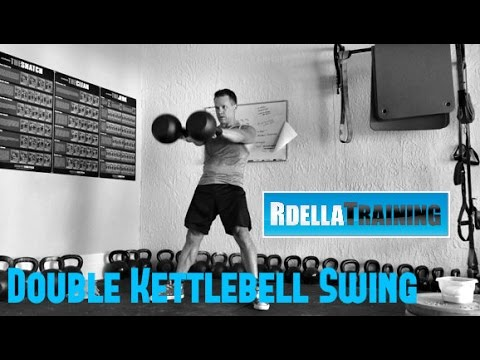 Kettlebell Workout routines: Double Kettlebell Swing