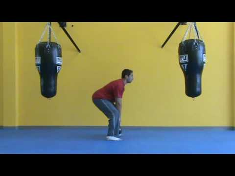 Kettlebell Around Leg Hasten Tutorial- Sideview
