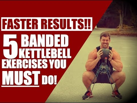Bands For FASTER Gains: Top 5 Banded Kettlebell Exercises | Chandler Marchman