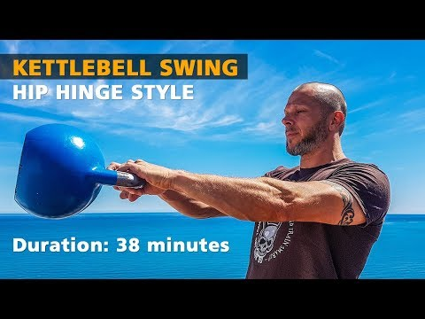 How to Kettlebell Swing – Russian Swing by IKFF CKT Lvl 1 / CrossFit Stage 1 Trainer