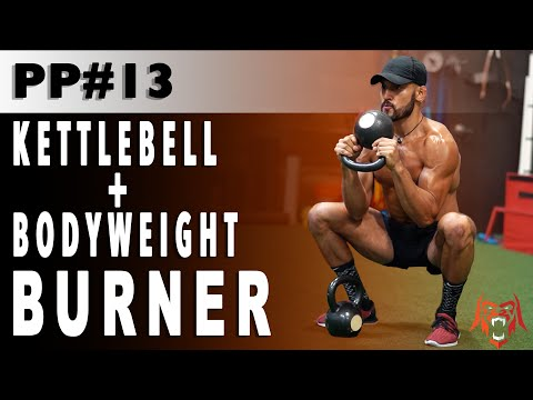 Primal Pump 13 | Kettlebell & Body weight Burner | Eric Leija