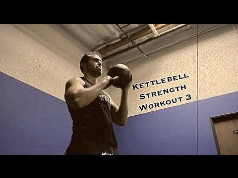 Plump Body Kettlebell Strength Idea: Workout 3