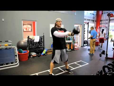 AJ Hawk Kettlebell Power Circuit