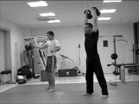 kettlebell training – exercise for energy and energy