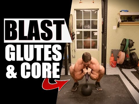 Torch Your Core & Glutes [Crazy Kettlebell Routine] | Chandler Marchman