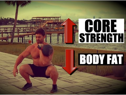 "QUICK Kettlebell ""Core"" Cardio [Blast Fat and Your Core!] 