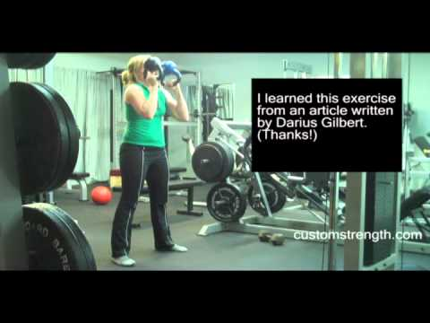 About fitness: Bottom-up Orderly Kettlebell Squat