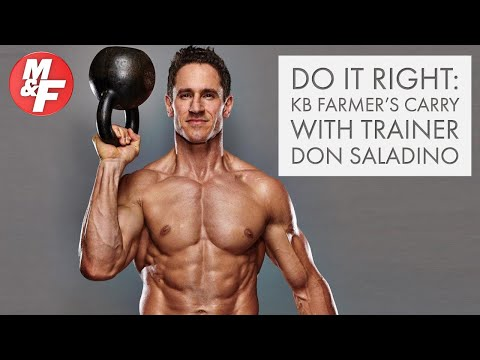 Enact it Beautiful: Kettlebell Farmer's Carry with Superstar Coach Don Saladino