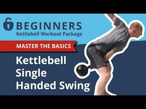 Grasp the Single Handed Kettlebell Swing