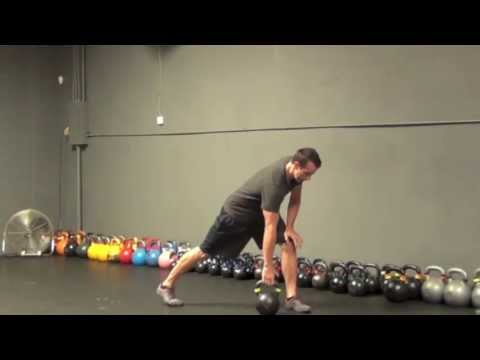 18-minute Single Kettlebell Workout