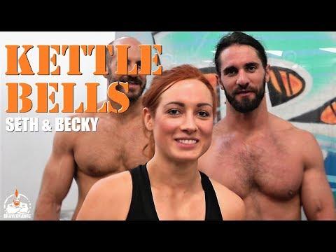 Seth Rollins & Becky Lynch Kettlebell (SWINGS!)