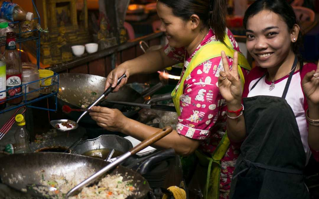 Discovering Cambodia's Identity through its Street Food
