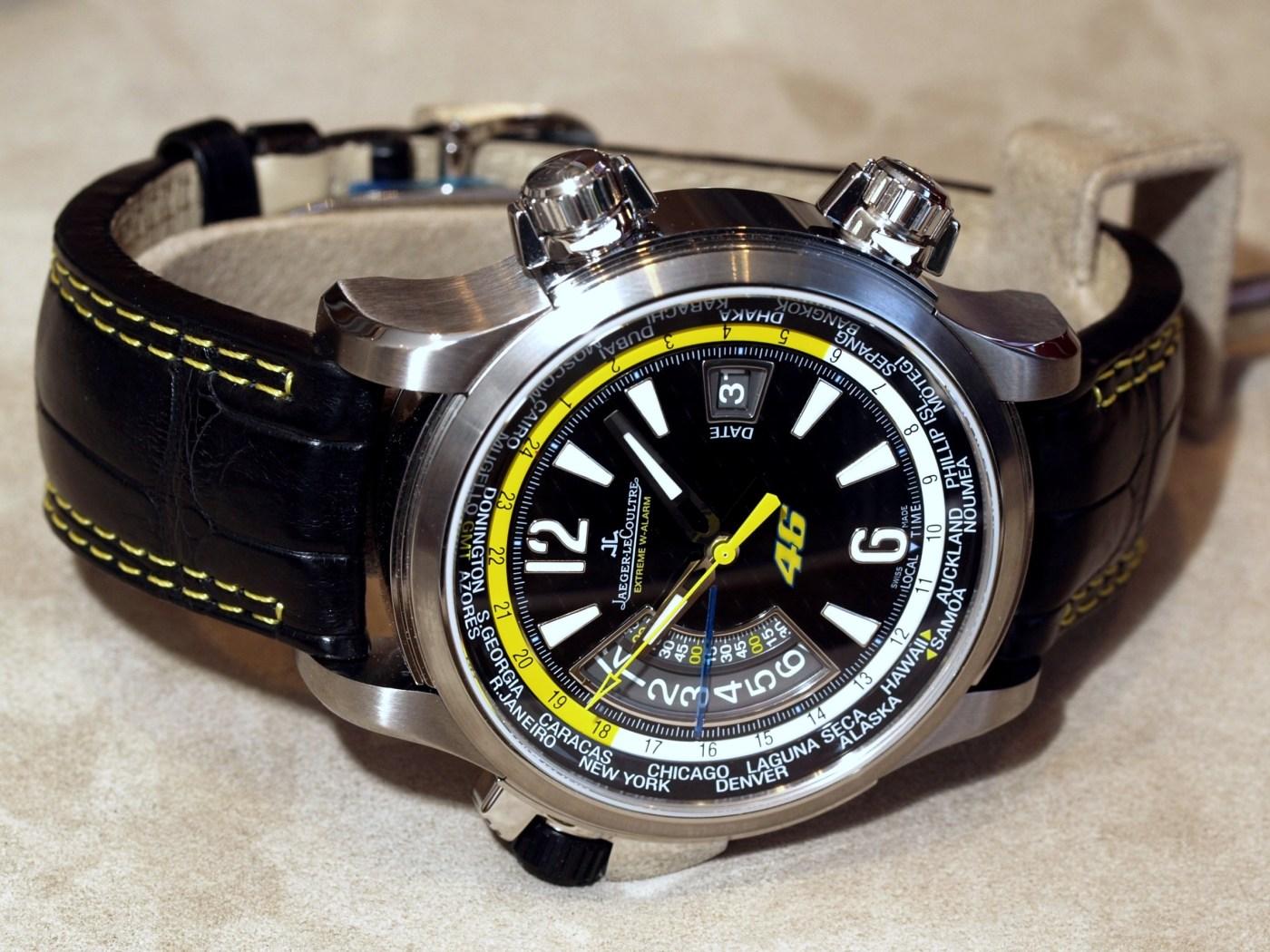 Jaeger-LeCoultre Master Compressor Extreme Alarm Valentino Rossi Edition